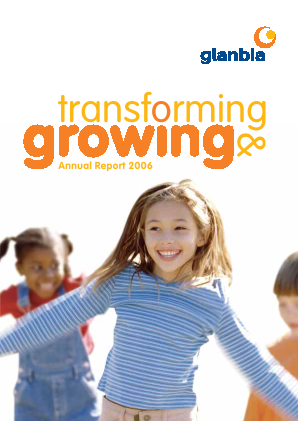 Glanbia annual report 2006