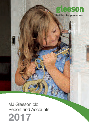 MJ Gleeson Plc annual report 2017