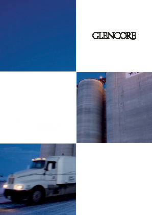 Glencore annual report 2012