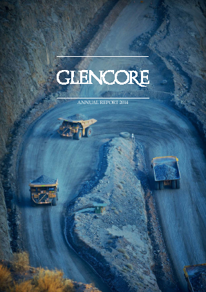 Glencore annual report 2014