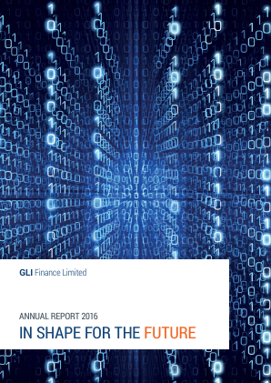 Gli Finance annual report 2016