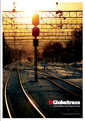Globaltrans Investment Plc annual report 2013