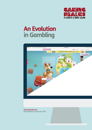 Gaming Realms Plc annual report 2014