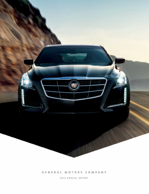 General Motors Corp annual report 2013