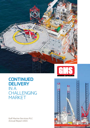 Gulf Marine Services Plc annual report 2015