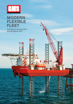 Gulf Marine Services Plc annual report 2017