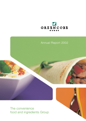 Greencore Group annual report 2002