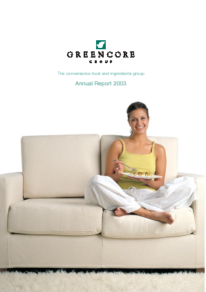 Greencore Group annual report 2003