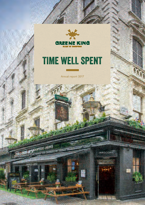 Greene King annual report 2017