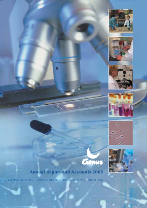 Genus annual report 2005
