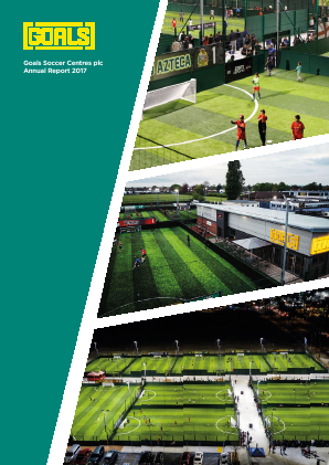 Goals Soccer Centres annual report 2017