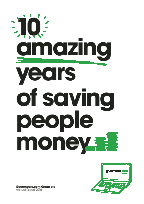Gocompare.com Group annual report 2016