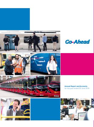 Go-ahead Group annual report 2018