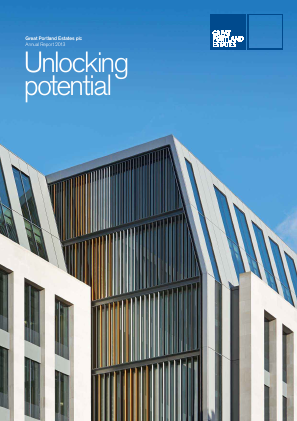 Great Portland Estates Plc annual report 2013