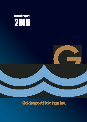 Goldenport annual report 2010