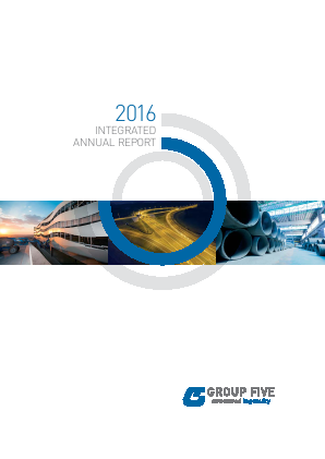 Group Five annual report 2016
