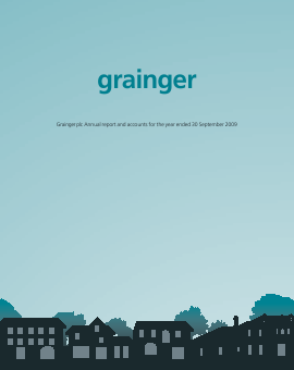 Grainger Plc annual report 2009