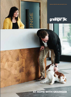 Grainger Plc annual report 2018