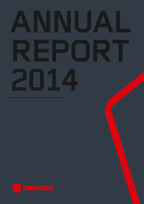 Gränges annual report 2014