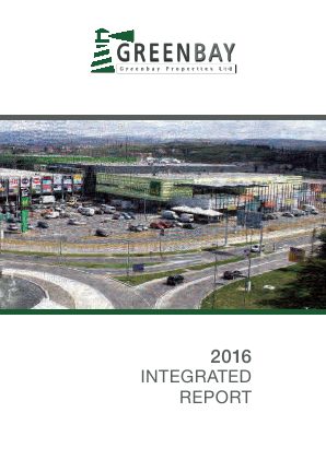 Greenbay Properties annual report 2016