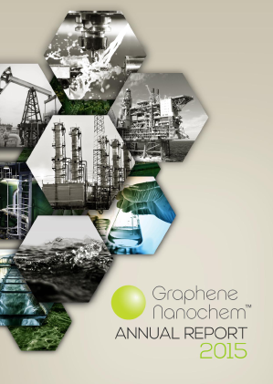 Graphene Nanochem Plc annual report 2015