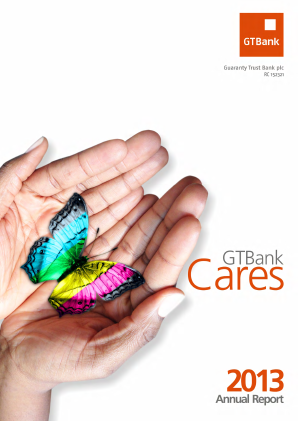 Guaranty Trust Bank annual report 2013