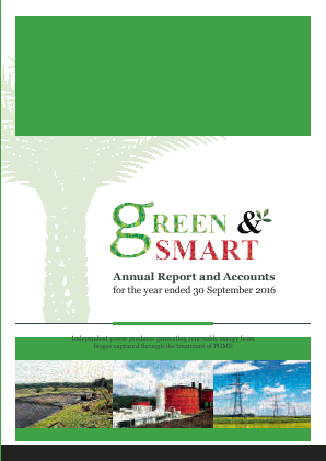 Green & Smart annual report 2016