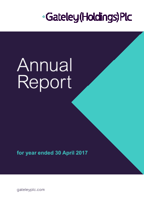 Gateley Holdings Plc annual report 2017