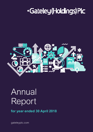 Gateley Holdings Plc annual report 2018