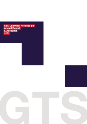 Gts Chemical Holdings Plc annual report 2014