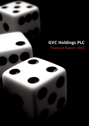 Gvc Holdings Plc annual report 2010
