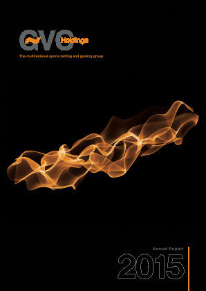Gvc Holdings Plc annual report 2015