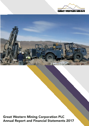Great Western Mining Corp Plc annual report 2017