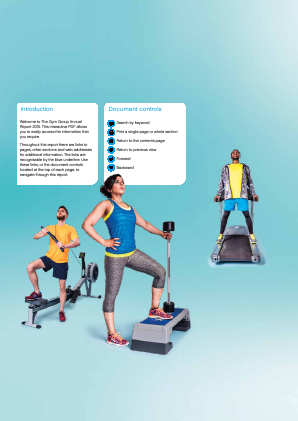 The Gym Group annual report 2015