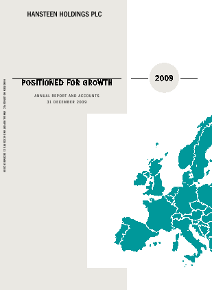 Hansteen Holdings annual report 2009