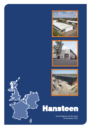 Hansteen Holdings annual report 2011