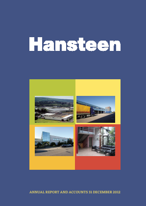 Hansteen Holdings annual report 2012