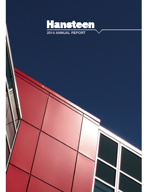 Hansteen Holdings annual report 2014