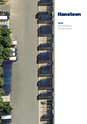 Hansteen Holdings annual report 2016