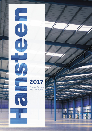 Hansteen Holdings annual report 2017