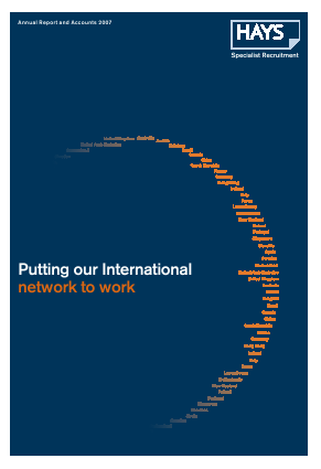 Hays Plc annual report 2007