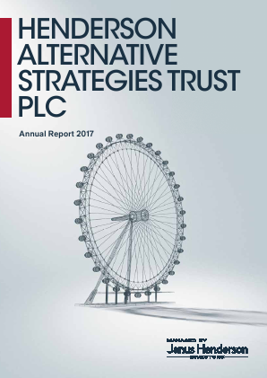 Henderson Alternative Strategy Trust Plc annual report 2017