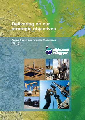 Nighthawk Energy Plc annual report 2009