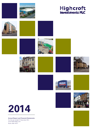 Highcroft Investments annual report 2014