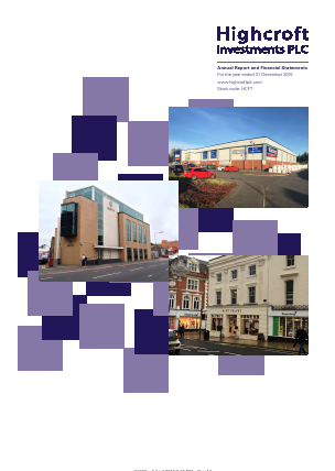 Highcroft Investments annual report 2015