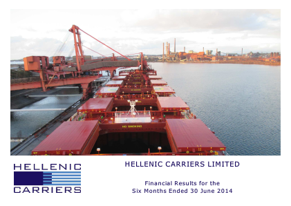 Hellenic Carriers annual report 2014