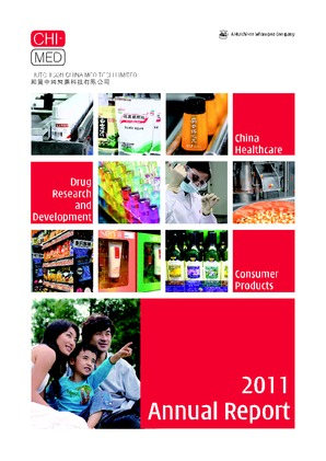 Hutchison China Meditech annual report 2011