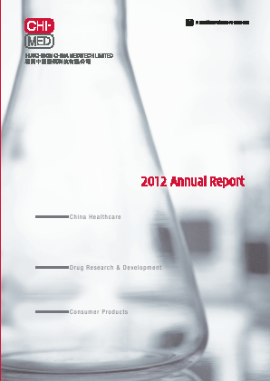 Hutchison China Meditech annual report 2012