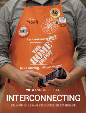 Home Depot annual report 2014