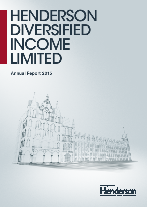 Henderson Diversified Income annual report 2015